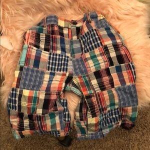 The children's place plaid shorts